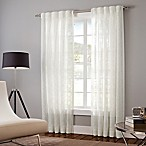 Designer's Select Claudia Sheer Inverted Pleat Window Curtain Panels in White