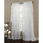 Gypsy 84-Inch Rod Pocket Window Curtain Panel in White