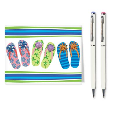 Flip Flops Stationery Set