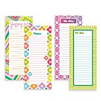 Magnetic Graphic Squares List Pad Set