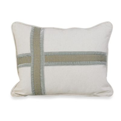 Arlington Cross Design Oblong Pillow