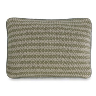 Arlington Knitted Oblong Throw Pillow