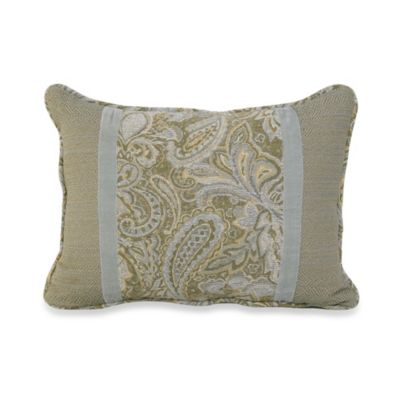 Arlington Paisley Oblong Toss Pillow