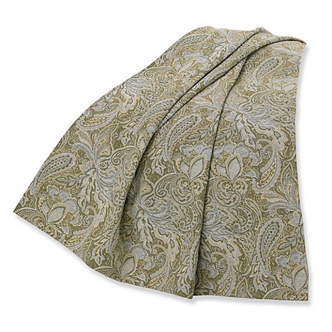 Arlington Paisley Throw Blanket