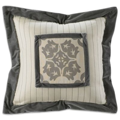 Kerrington Framed Square Throw Pillow