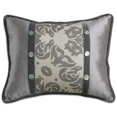Kerrington Rectangle Damask Toss Pillow