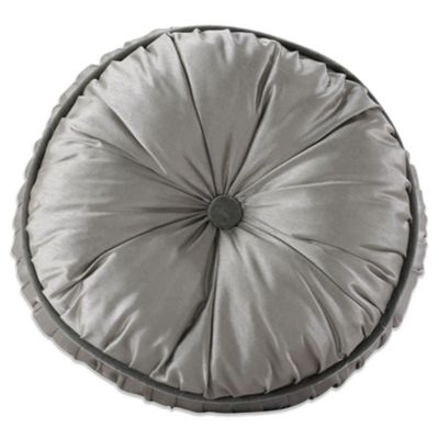 Kerrington Buttoned Round Throw Pillow