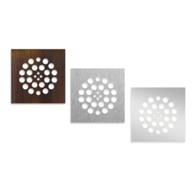 Tile Redi® Redi Drain® Brushed Nickel Designer Drain Plate