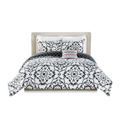 Tilework 5-Piece Reversible King Comforter Set