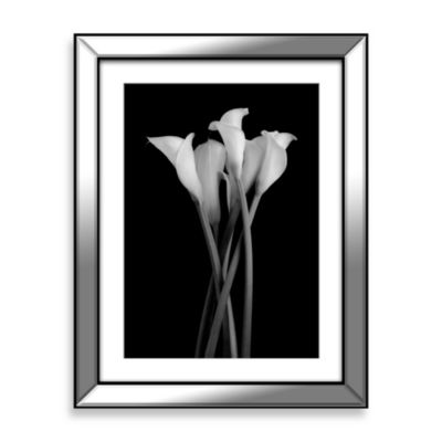The Gathering Black and White Floral Photography Wall Art