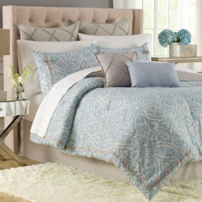 Hadley 12-Piece Queen Comforter Super Set