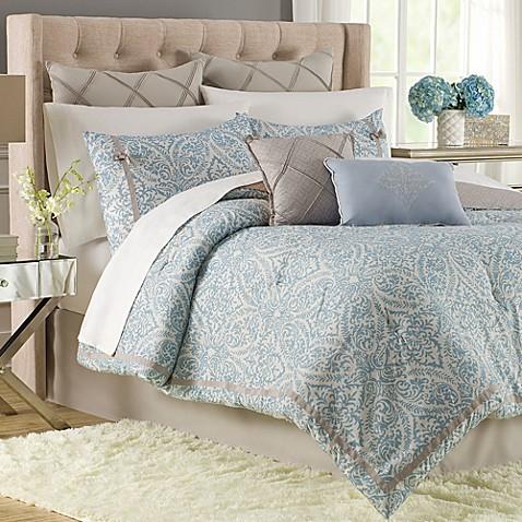 hadley 9 12 piece comforter super set bed bath beyond. Black Bedroom Furniture Sets. Home Design Ideas