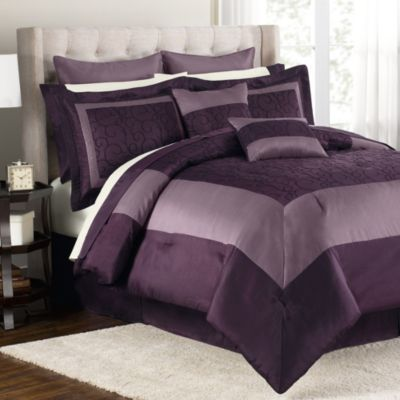 Audrey 12-Piece King Comforter Set