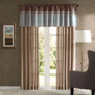 Bedford Window Curtain Panel Pair