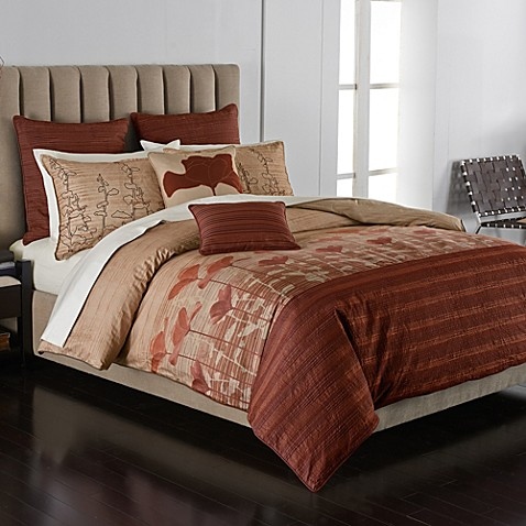 buy parker loft california poppy full queen comforter set from bed bath beyond. Black Bedroom Furniture Sets. Home Design Ideas