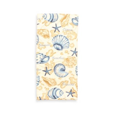 Ocean Path Print Kitchen Towel