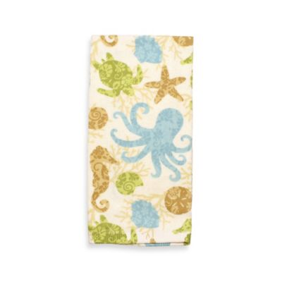 Under the Sea Print Kitchen Towel