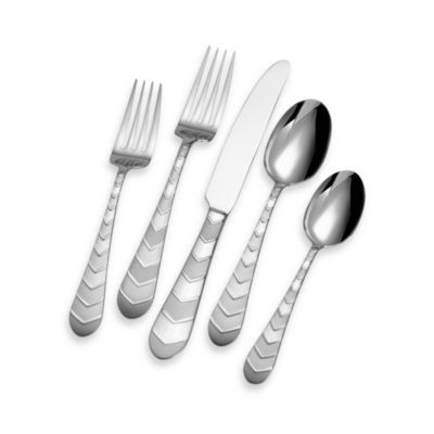 Towle® Everyday Kirby Frost 20-Piece Flatware Set