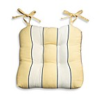 Lauren Stripe Chair Pad