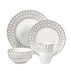 Deon Silver 16-Piece Dinnerware Set