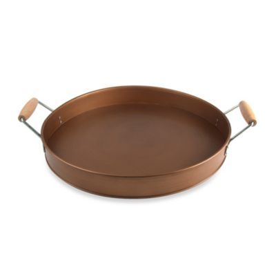 Artland Oasis Party Tray in Antique Copper