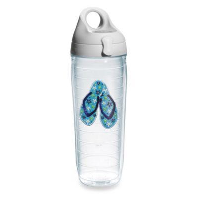 Tervis® Ladies Beaded Flip Flops 24–Ounce Water Bottle with Lid