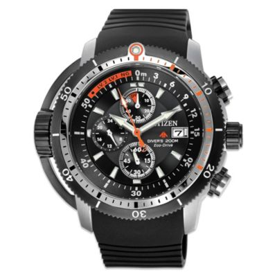 Citizen Men's Eco-Drive Promaster Depth Meter Chronograph Watch