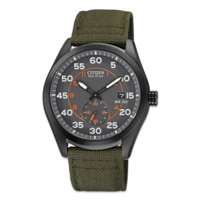 Citizen Men's Eco-Drive Watch with Nylon Strap