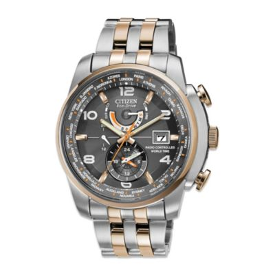 Citizen Men's Eco-Drive World Time A - T Watch