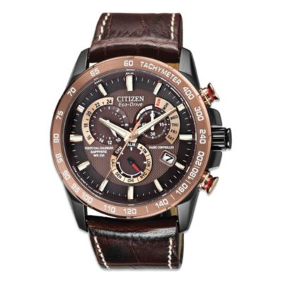 Men's Eco-Drive Perpetual Chronograph A-T Watch