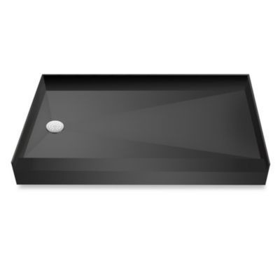 Tile Redi USA® Redi Base™ 37-Inch x 60-Inch Single Curb Shower Pan with Left Drain