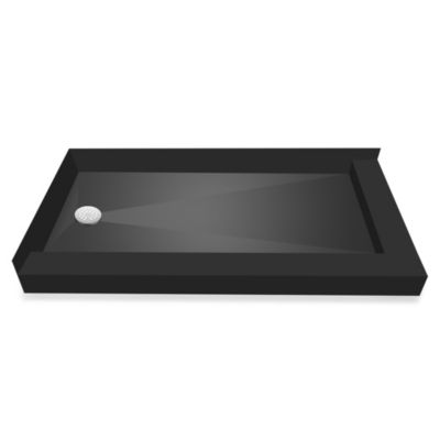 Tile Redi USA® Redi Base™ 30-Inch x 60-Inch Right Double Curb Shower Pan with Left Drain
