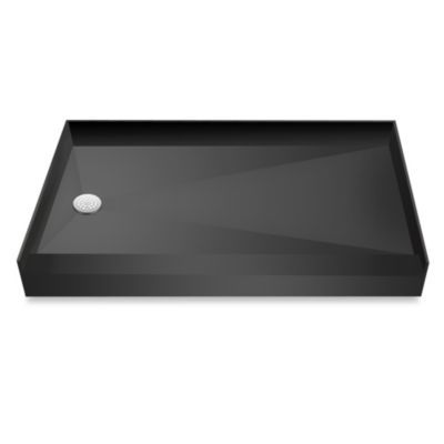 Tile Redi USA® Redi Base™ 32-Inch x 60-Inch Single Curb Shower Pan with Left Drain