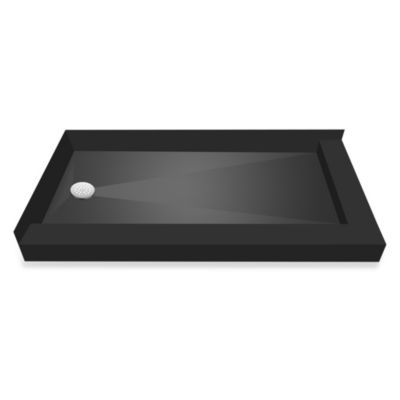 Tile Redi USA® Redi Base™ 37-Inch x 54-Inch Right Double Curb Shower Pan with Left Drain