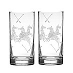 Lenox® Scalamandre Zebra Highball Glasses (Set of 2)