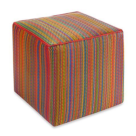 fab habitat cancun cube pouf. Black Bedroom Furniture Sets. Home Design Ideas