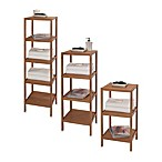 Creative Bath EcoStyles Shelf Bamboo Tower