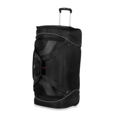 High Sierra AT-7 30-Inch Wheeled Cargo Duffle in Black