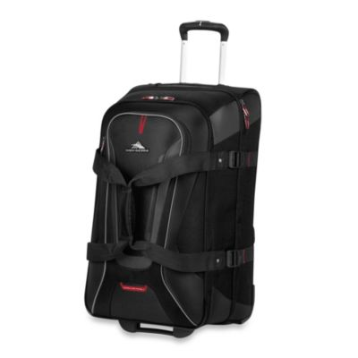 "High Sierra® AT-7 26"" Carry-On Wheeled Convertible Backpack and Duffle in Black"