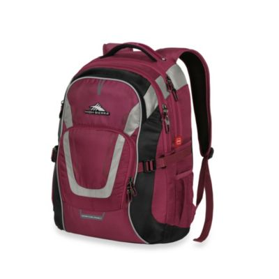 High Sierra AT-7 Carry-On Computer Backpack in Boysenberry
