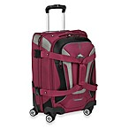 High Sierra® AT-7 Carry-On Spinner Convertible Backpack and Duffle in Boysenberry