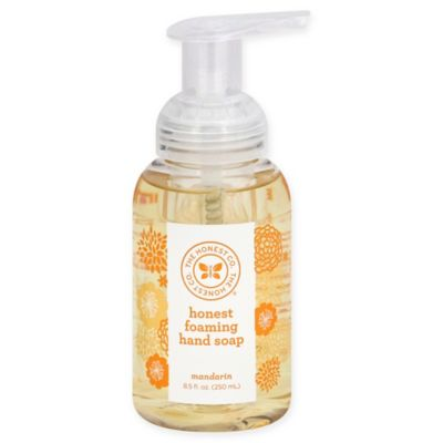 Honest 8.5-oz Foaming Hand Soap in Light Mandarin Scent