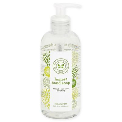 Honest 12-Ounce Hand Soap in Lemongrass