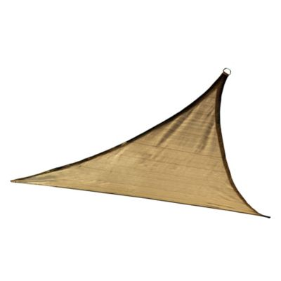 ShelterLogic® Triangle 16-Foot Sun Shade Sail in Sand
