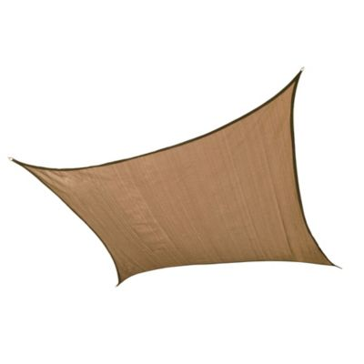 ShelterLogic® Square 16-Foot Sun Shade Sail in Sand