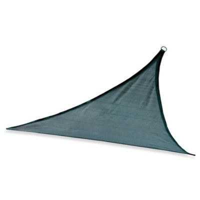 ShelterLogic® Triangle 12-Foot Sun Shade Sail in Light Green