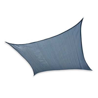 ShelterLogic® Square 16-Foot Sun Shade Sail in Sea Blue