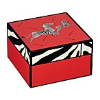 Scalamandre by Lenox® Zebra Lacquered Square Box
