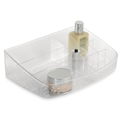 InterDesign® Rain Clear Cosmetic Station