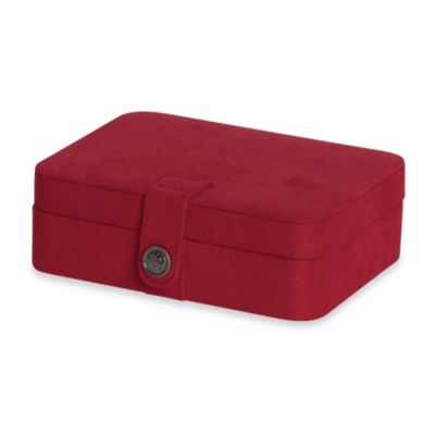 Mele & Co Red Jewelry Box